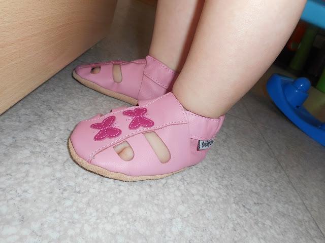 chaussons pour premiers pas