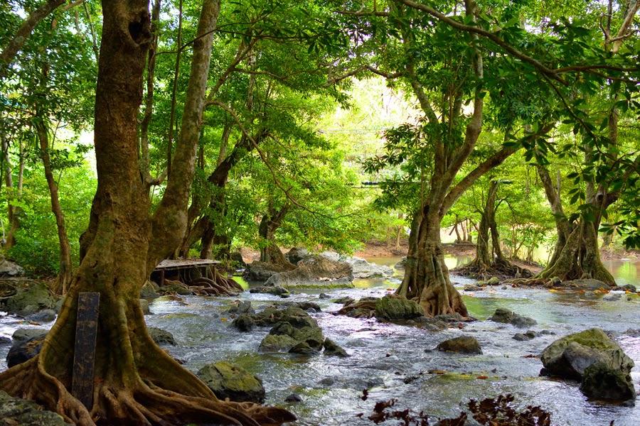 wodospady Raman w tajlandii