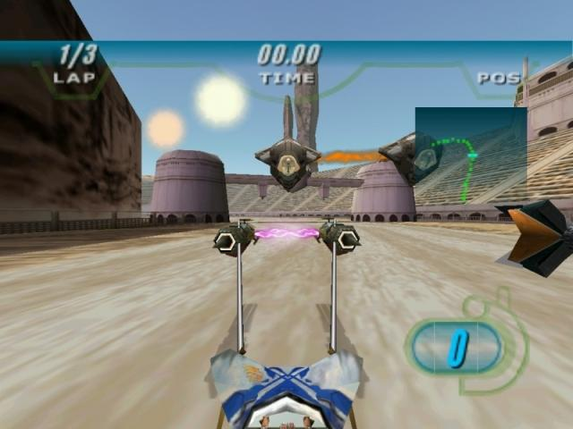 Star Wars Episode 1 Racer PC Games Gameplay