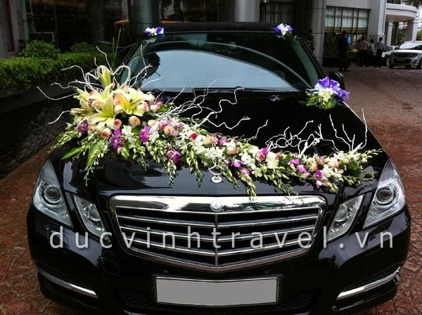 Cho thuê xe cưới Mercedes E250 hạng sang bậc nhất Hà Nội