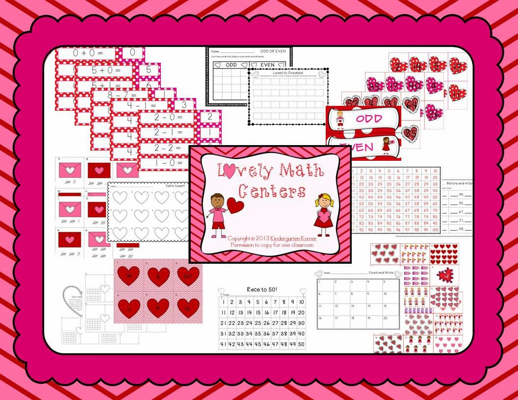 http://www.teacherspayteachers.com/Product/Lovely-Math-Centers-521233