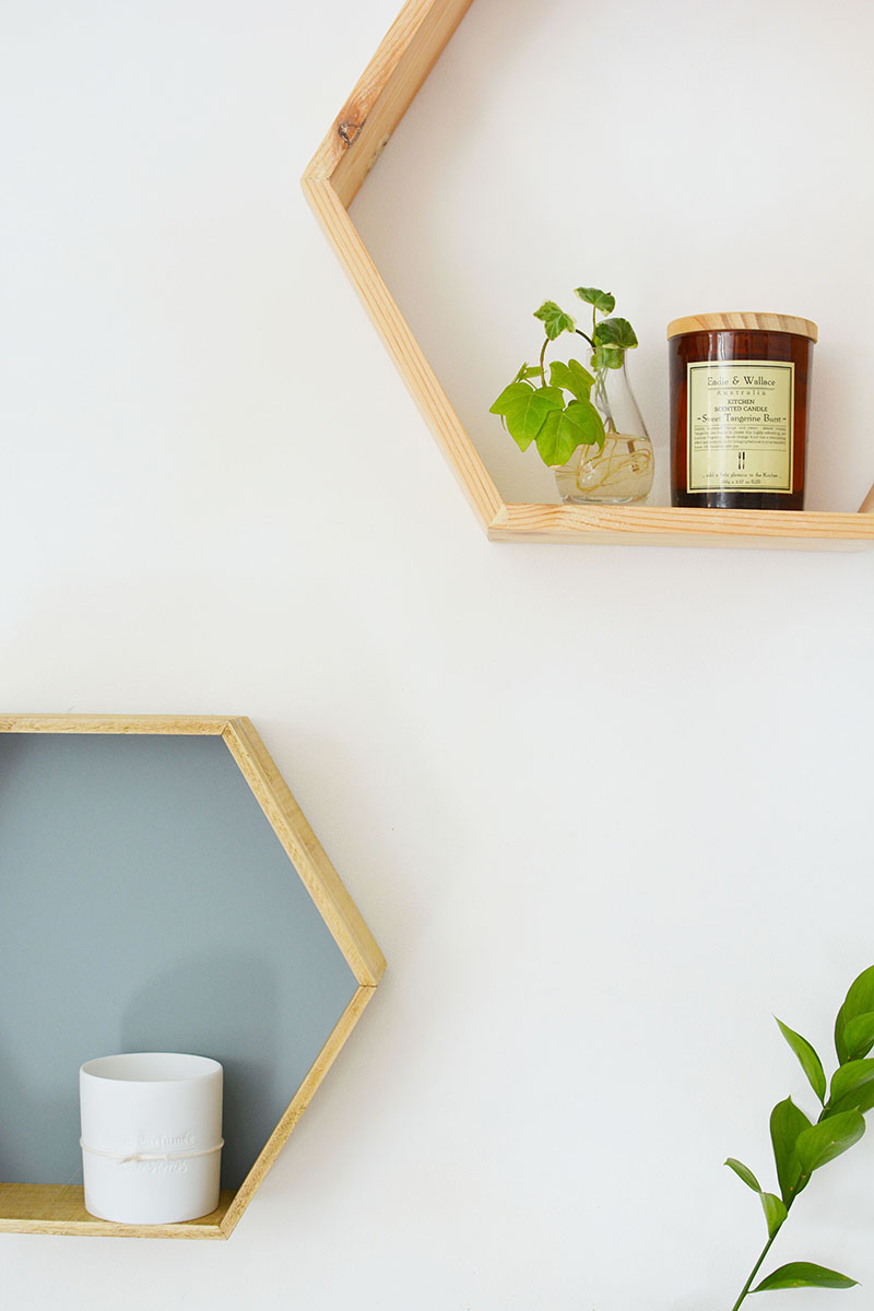 Diy Honeycomb Shelves Burkatron
