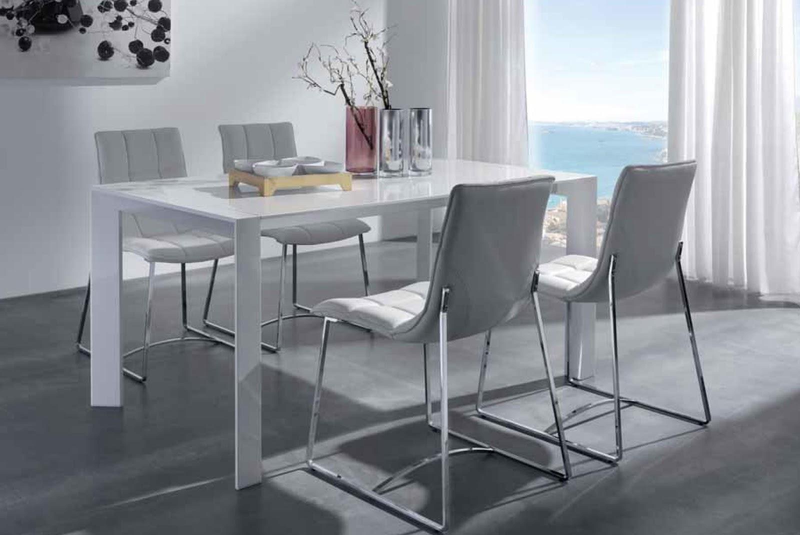 Decora hogar comedores modernos y peque os para comer con Comedores altos modernos