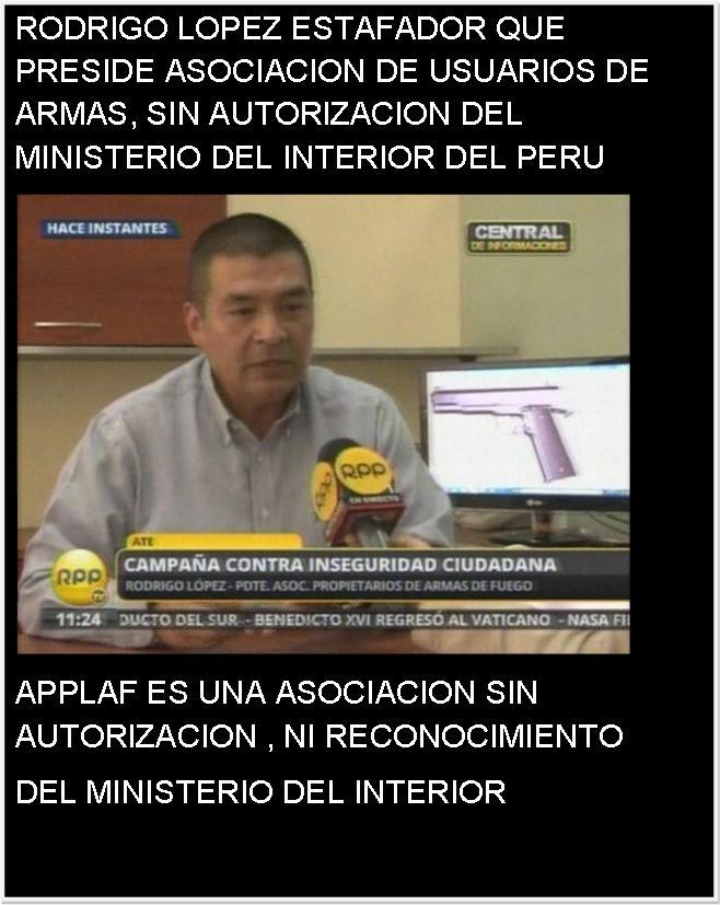 Articulos gratis diversos rodrigo lopez es un estafador for Ministerio del interior peru