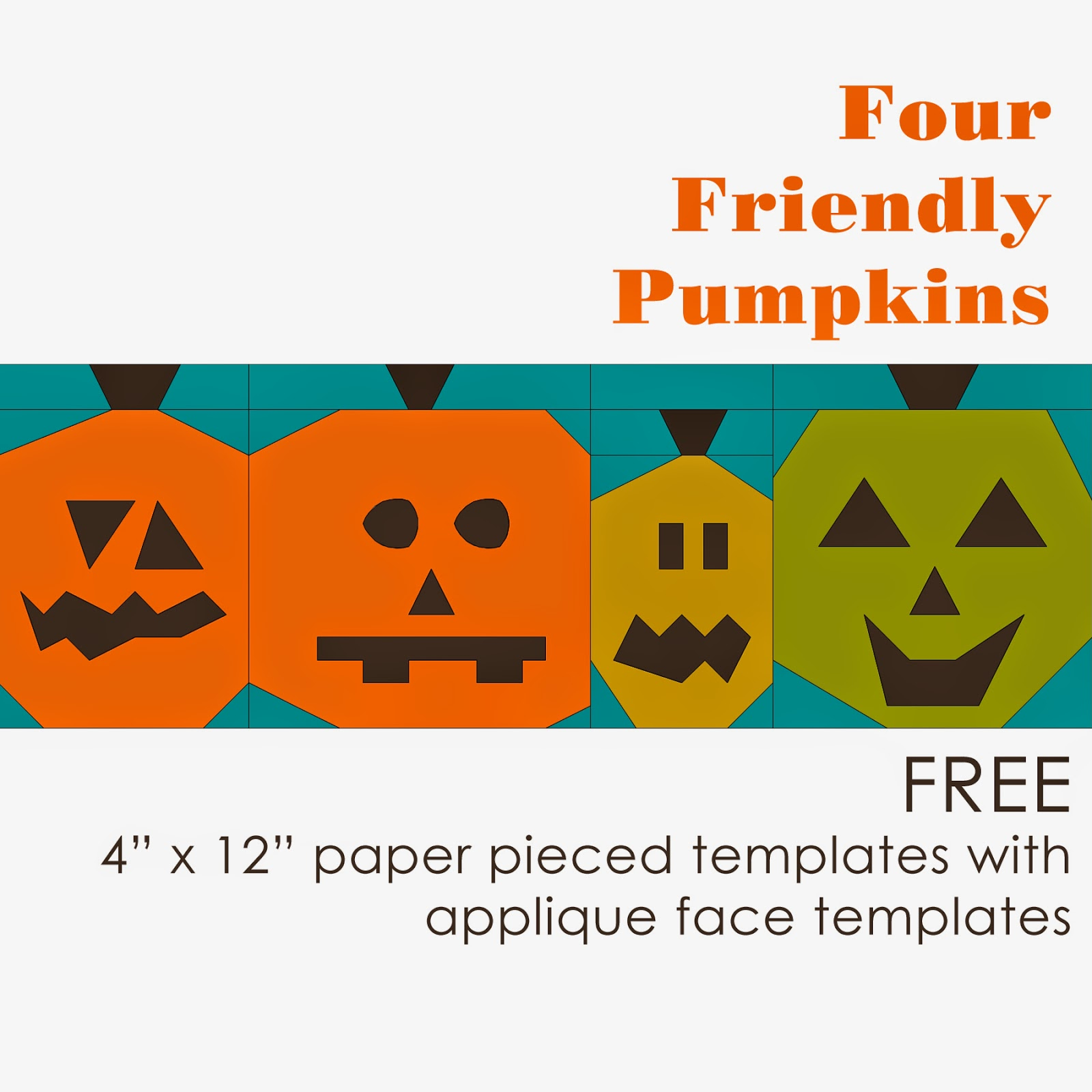 http://www.craftsy.com/pattern/quilting/home-decor/four-friendly-pumpkins/118891
