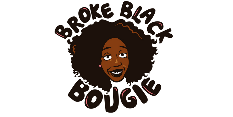 Broke Black Bougie