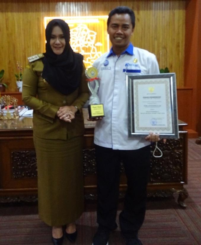 Menerima Anugerah Bupati Kendal Award 2018