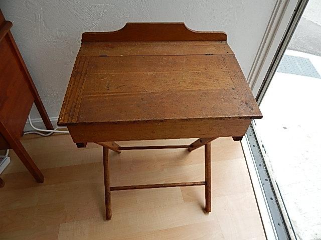 Antique Paris Mfg. School Desk - 13909 Antiques: Antique Paris Mfg. School Desk