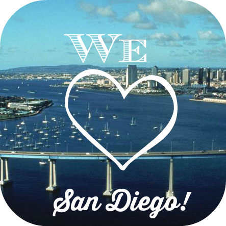 We Love San Diego
