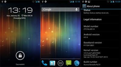 CyanogenMod 9 For ZTE Crescent