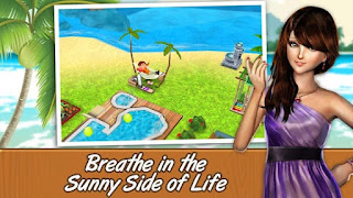 Screenshots of the Me Girl Love Paradise for Android tablet, phone.