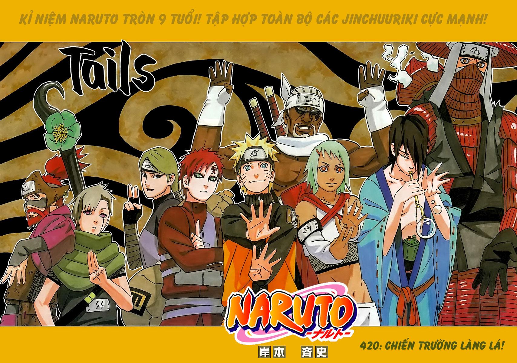 Naruto chap 420 Trang 1 - Mangak.info
