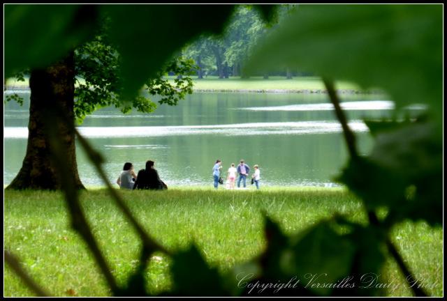 Swiss Lake Versailles pièce d'eau des Suisses