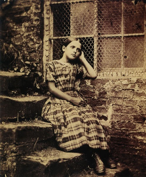 Lewis Carroll. Fine Art Photography. Annie Coates. 1857