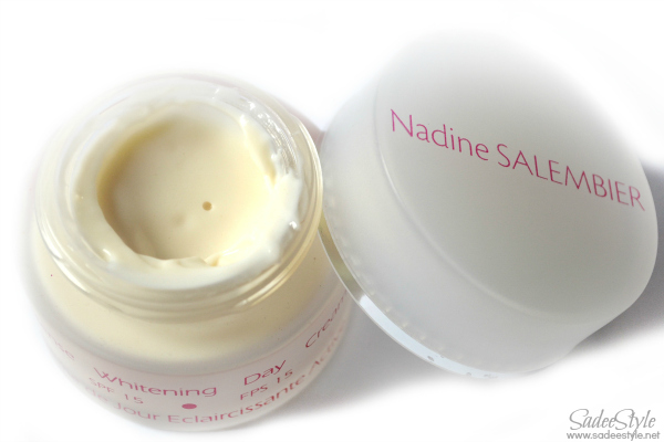 Intense Whitening Day Cream - SPF 15 by Nadine Salembier