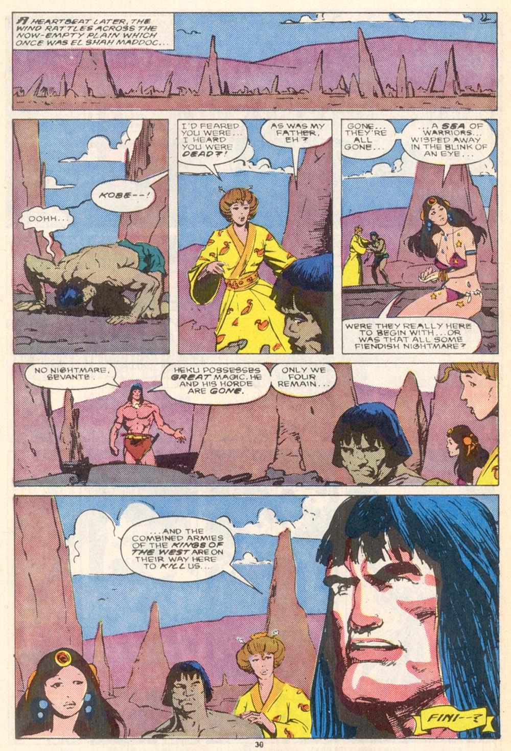 Conan the Barbarian (1970) Issue #208 #220 - English 23
