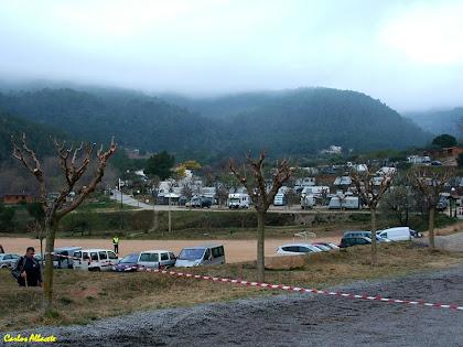 Vista general del lloc de sortida: el Càmping El Pasqualet. Autor: Carlos Albacete