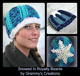 http://www.ravelry.com/patterns/library/snowed-in-royalty