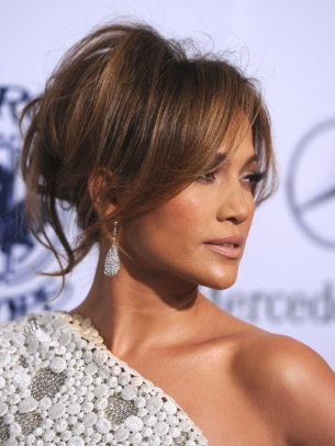 Jennifer Lopez Hair Updo