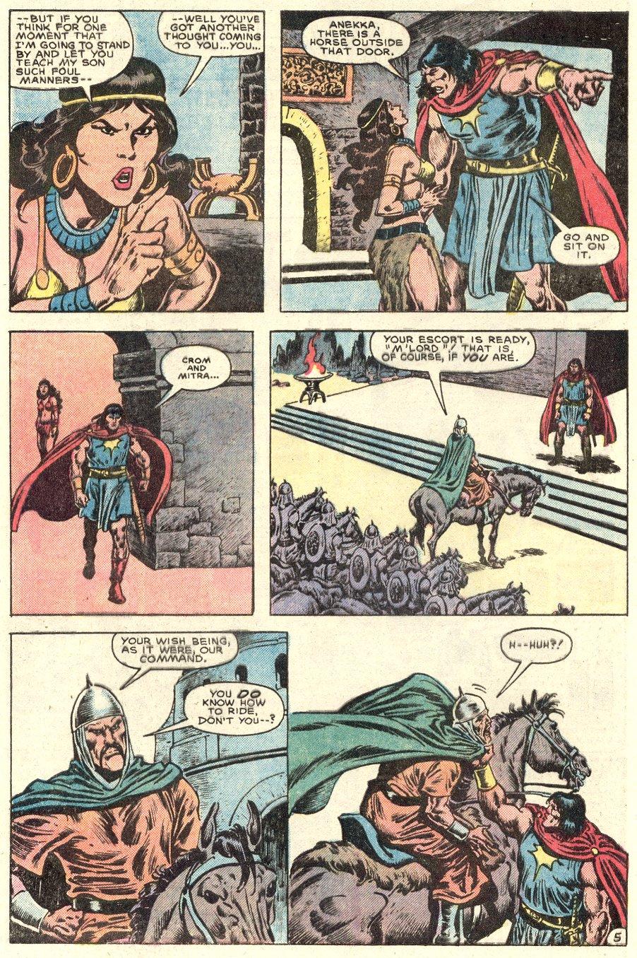 Conan the Barbarian (1970) Issue #182 #194 - English 6