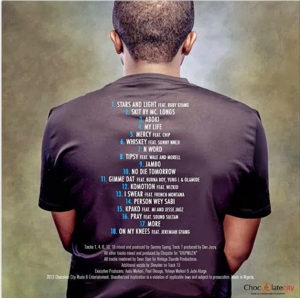 Ice Prince Releases Official Tracklist For 'Fire Of Zamani' [PHOTO + Tracklist]