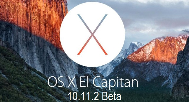 Mac OS X 10.11.2 El Capitan Beta