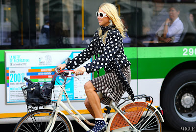 polka dot fashion