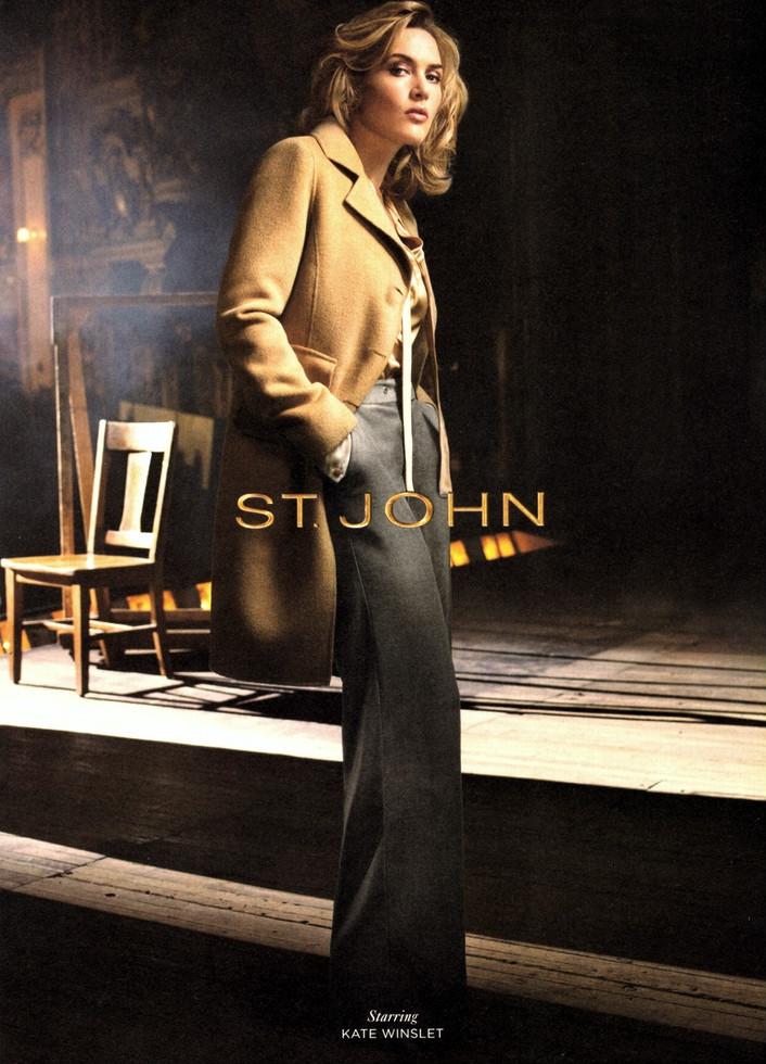 Beauty Kate Winslet Hairstyle on St. John Autumn/Winter 2011