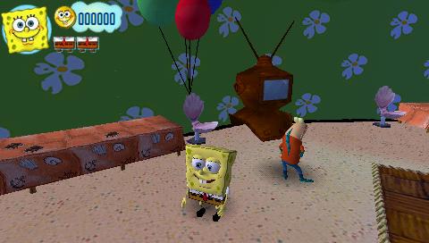Bob Esponja Atrapados en el Congelador  Juegos PSP en 1 link