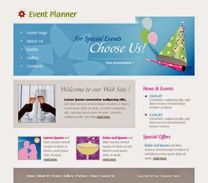 Beautiful Top Best Event Planner Website Templates | Helpers Ways