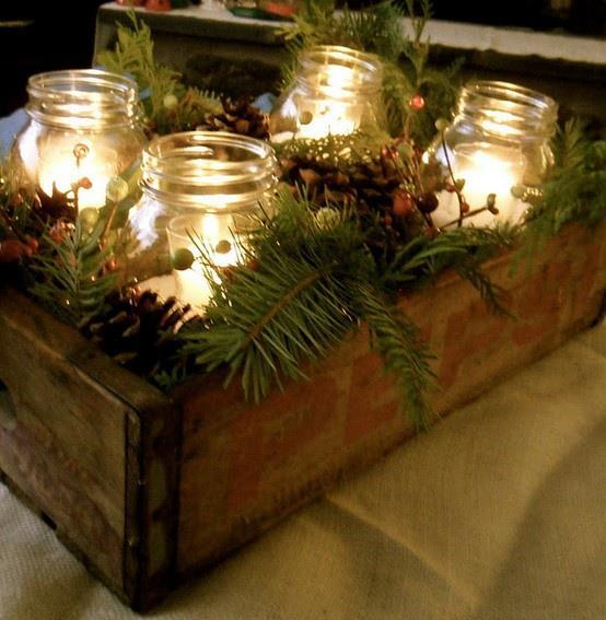 Decorating Ideas > Katerinas Journal 20+ Unique DIY Christmas Decoration Ideas ~ 195421_Decorating Christmas Jars Ideas