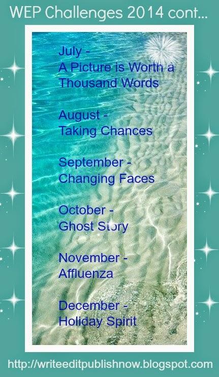 WRITE...EDIT...PUBLISH CHALLENGES 2014
