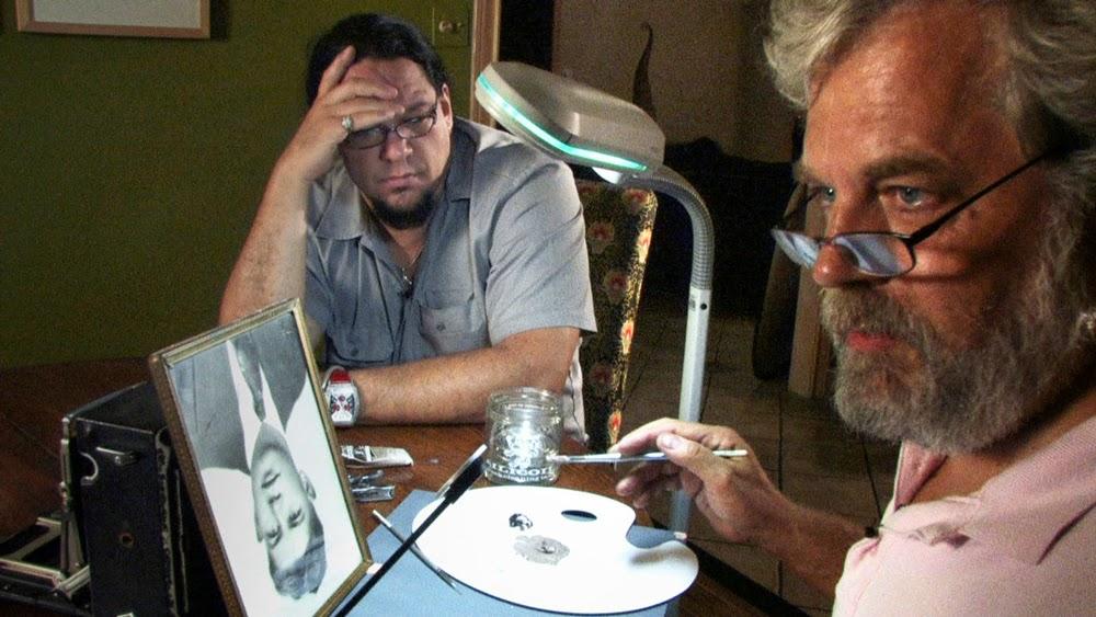 Penn Jillette and Tim Jenison in Tim's Vermeer