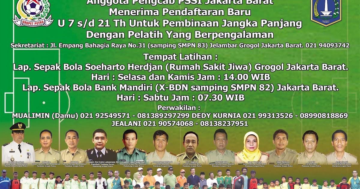 Banner Sbb Gropet Grogol Petamburan Putra