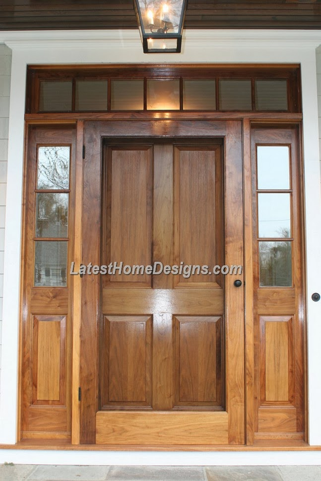 Teak wood main door designs india joy studio design for Big main door designs