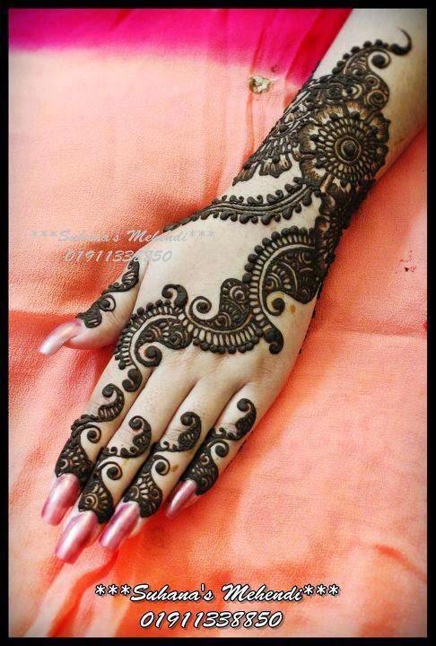 Mehndi Hairstyles Zip : Punjabi mehndi designs for girls b g fashion