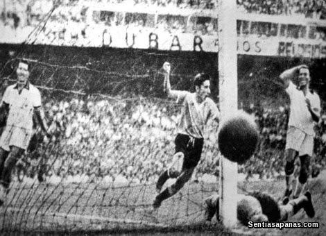 Uruguay 2 Brazil 1 (1950)