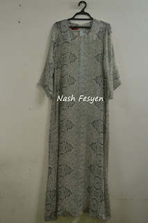 Nash Fesyen Dress Baju Kurung Kebarung Blouse