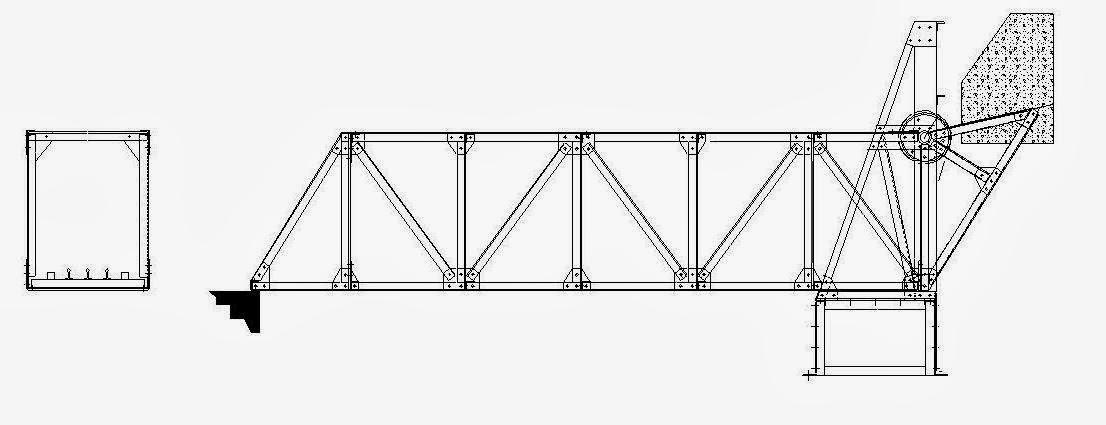 gnome miniature engineering model railway bridges  0 and s scale bascule and truss bridges