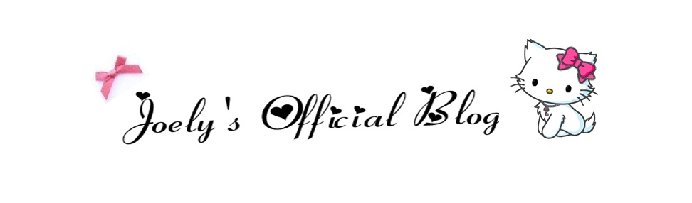 ♥ Joεly's Official Blog