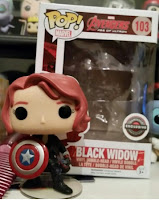 Funko Pop! Black Widow with Shield Gamestop exclusive