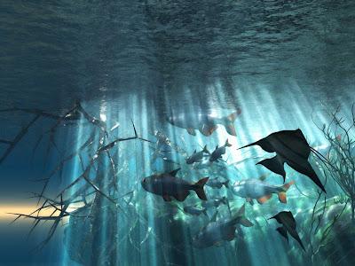 Background Ocean Scene6