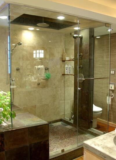 Small master bathroom ideas bathroom showers for Small master bathroom