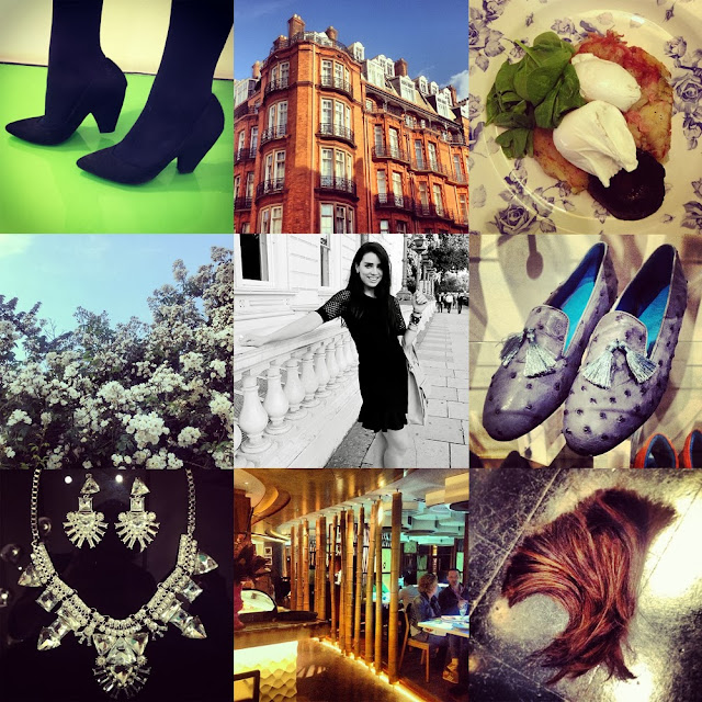 Favourite Instagram photos from a fashion blogger in London