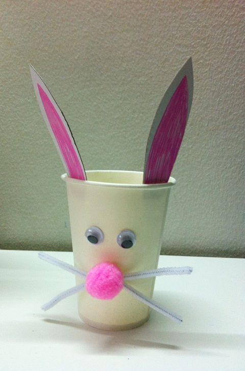 Easter Craft Paper Cup
