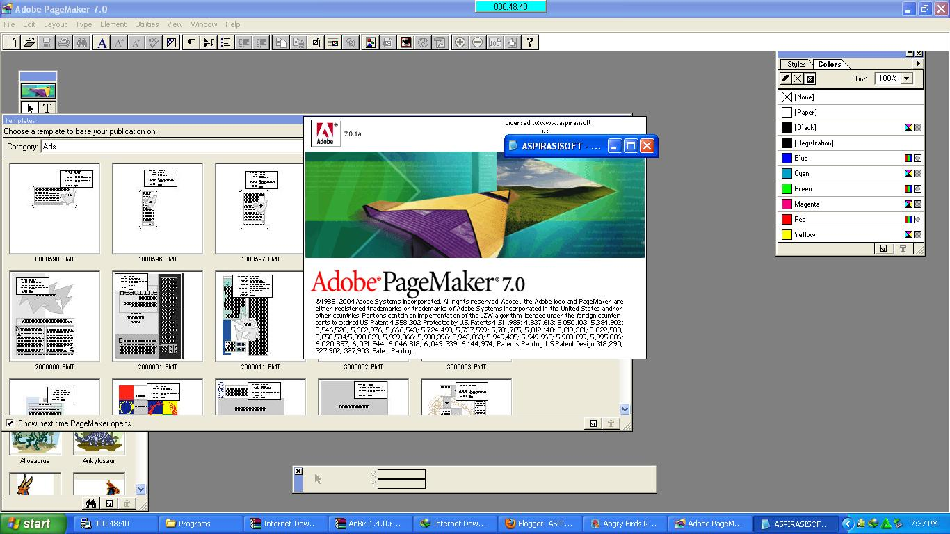 Download Adobe Page Maker 7 0 1