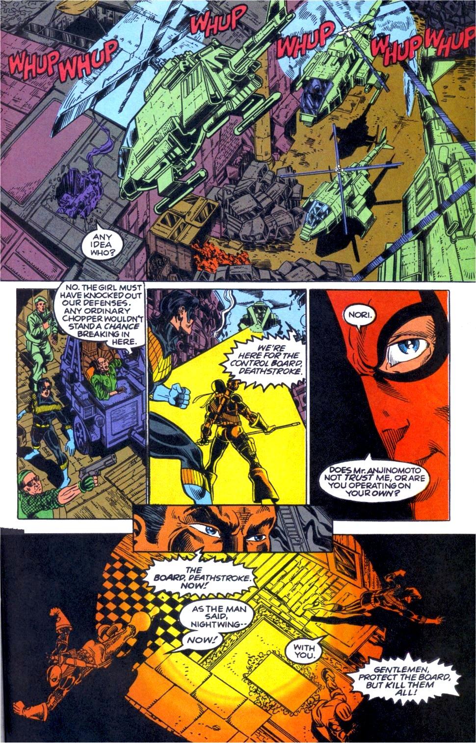 Deathstroke (1991) Annual 1 #1 - English 50
