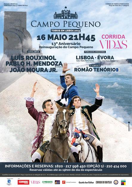 CAMPO PEQUENO (LISBOA) 16-05-2019 CORRIDA AZ PORTUGUESA.