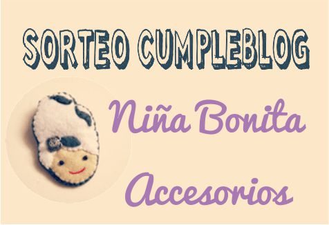 SORTEO EN NIÑA BONITA ACCESORIOS