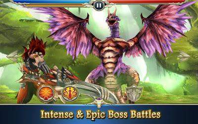 Monster Blade 1.3.2.1 Apk Mod Full Version Data Files Download Unlimited Coins-iANDROID Games